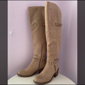 Francescas Over-the-Knee Faux Suede Boot US Size 9
